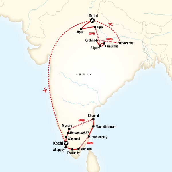 Best india tour itineraries