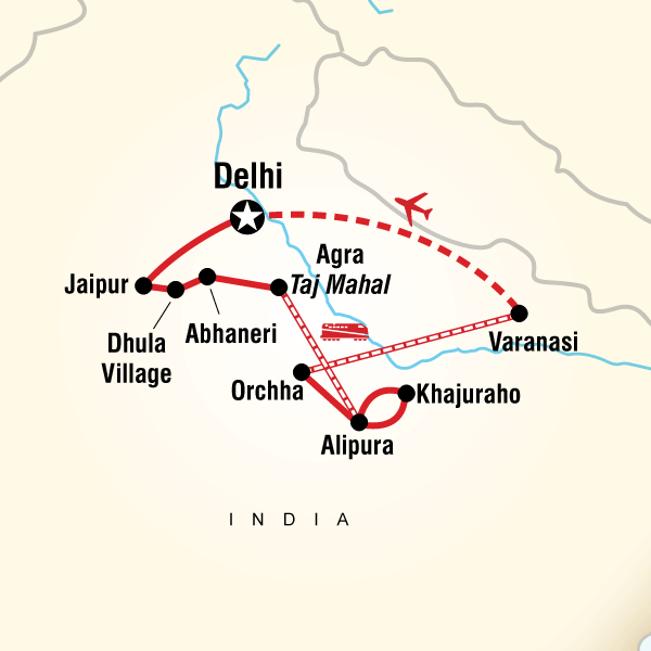 India group tour itineraries