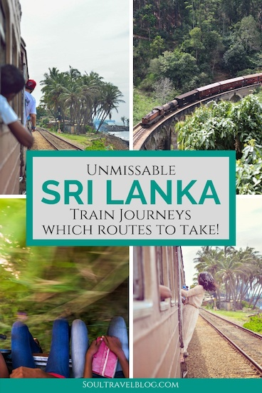 Planning a trip to Sri Lanka? Don't miss the train travel in Sri Lanka - it's sure to be one of the highlights of your trip! Here are some of our favourite journeys + how to book train travel in sri lanka! #srilanka #asiatravel #traintravel