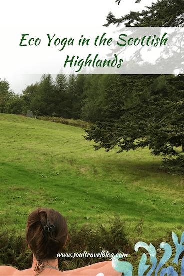 eco yoga retreat Scotland