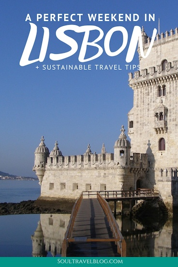 Planing the perfect weekend trip to Lisbon? Our guide to two days in lisbon covers things to do in Lisbon, where to stay plus trips out of the city if you have a little more time! Don't miss our responsible travel tips for Lisbon too. #lisbon #portugal #lisbontravel #portugaltraveltips #responisbletravel