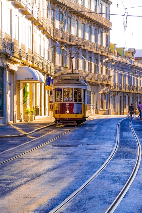 Old Lisbon photography - Lisbon Tram
