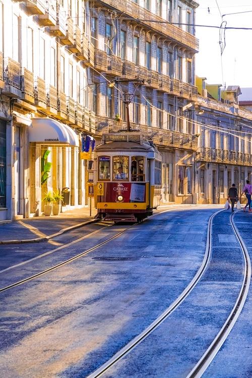 Old Lisbon photography - Lisbon Tram