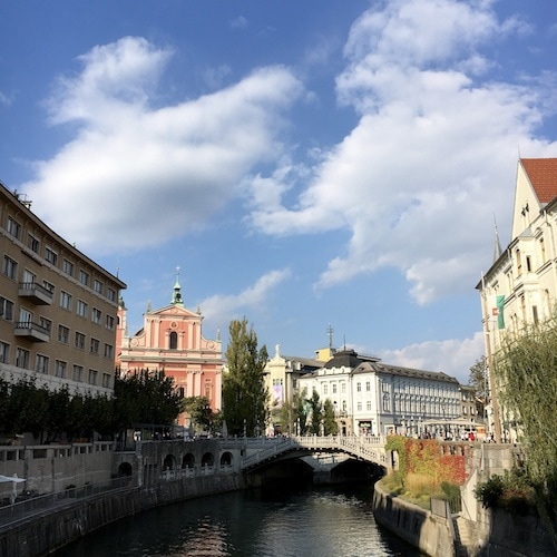 Ljubljana responsible travel guide.