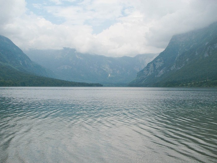 Eco Tourism in Slovenia Lake Bohinj.