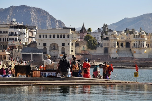 ethical travel in Rajasthan, in Pushkar
