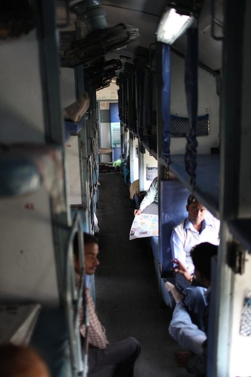 sleeper class indian railways