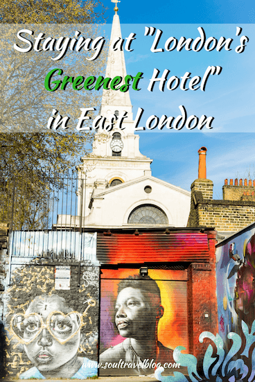 Review of QBIC Hotel London, London't Greenest Hotel by Soul Travel Blog