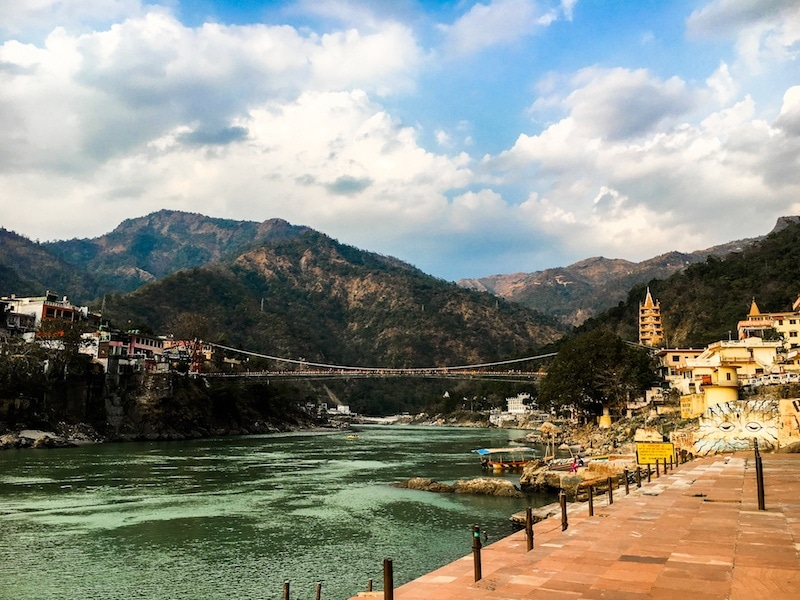 river ganges ashram in rishikesh india