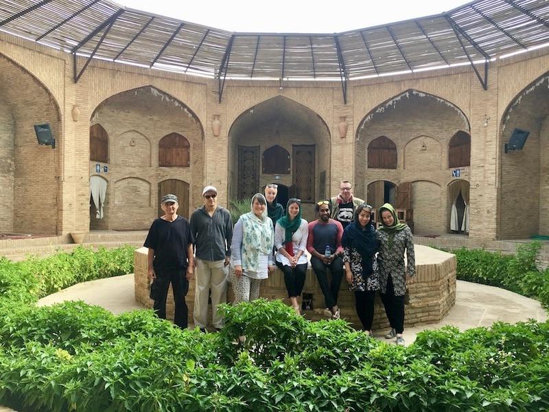 Zeinodin Caravanserai - Staying in a Silk Road Caravanserai Iran