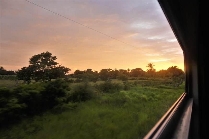 Great Rail Journeys with a view! Through Cuba's interior