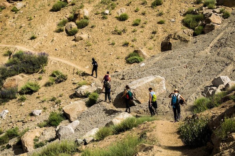 the sham trek Ladakh experience