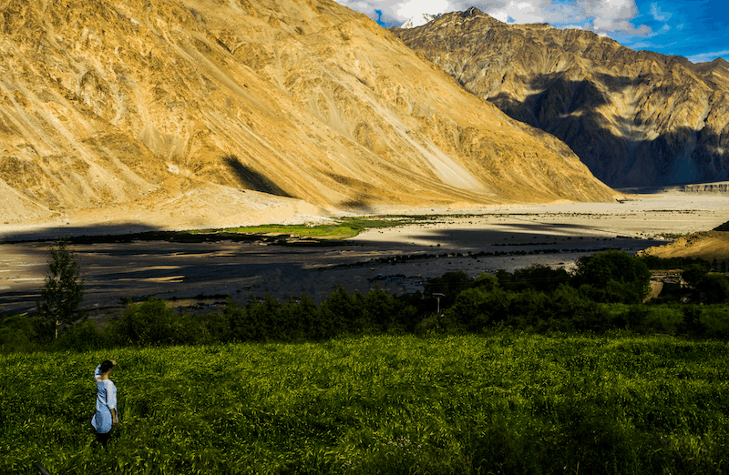 shyok valley - off the beaten track in Ladakh
