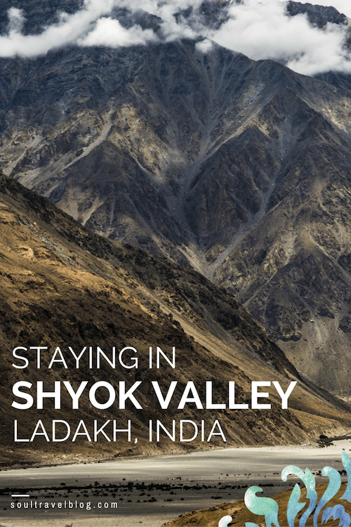 looking for info about travel in Ladakh, India? Thinking of trekking in Ladakh or visiting Nubra? Find travel inspiration for Ladakh off the beaten path and my stay in rural Shyok here. Pin this post to one of your boards to find it later!