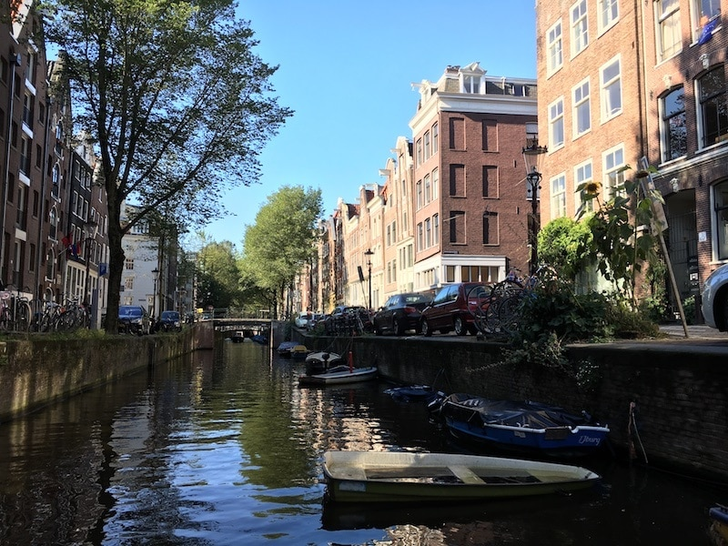 sustainable travel in amsterdam