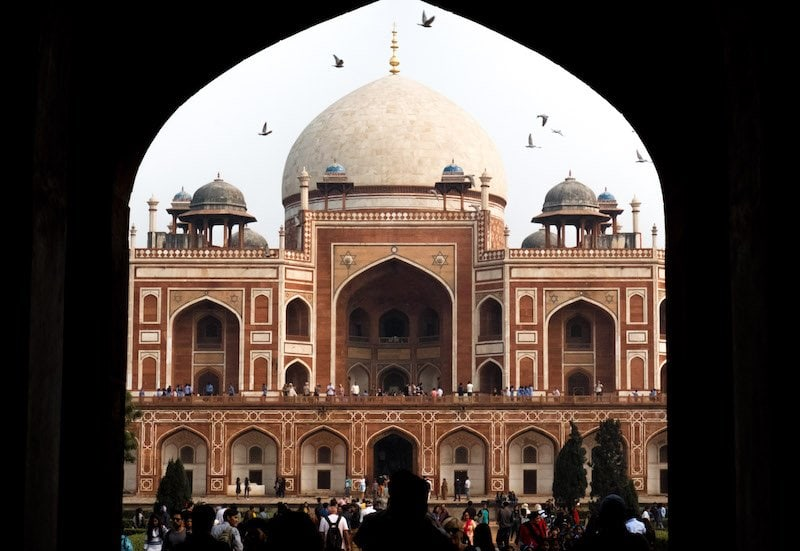 Humayan's tomb delhi travel guide