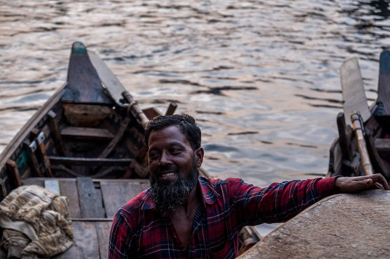 taking the rocket paddle steamer to the sundarbans Bangladesh