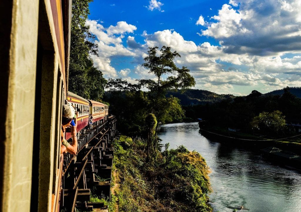 Train travel and reducing carbon footprint while travelling