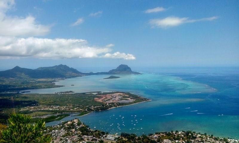 kayaking in Mauritius
