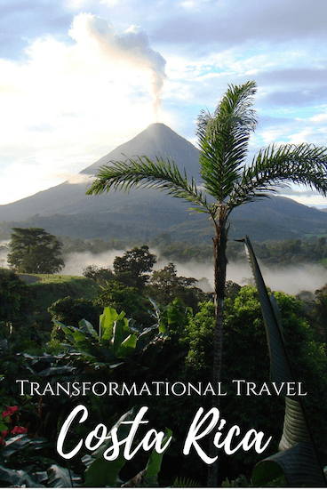 Curious about transformational travel or visiting Costa Rica? Here's a taste of what transformational travel can offer! #travel #costarica #puravida #mindfulness #transformationaltravel