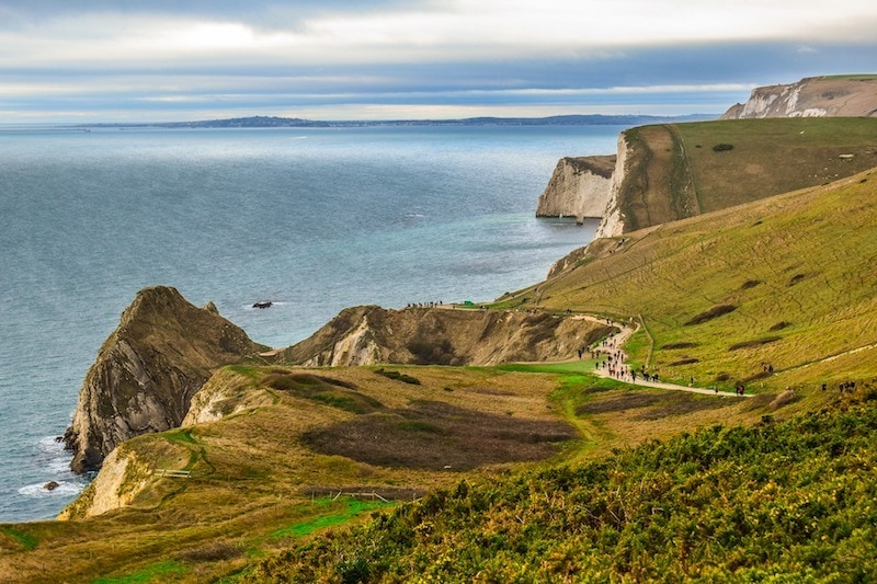 walking the Jurassic Coast Dorset