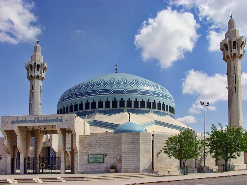 king abdullah mosque amman attractions