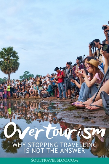 The problem of overtourism and responsible travel is a complicated one, but we don't think the answer is to stop travelling. Here's why and what we can all do to help against overtourism around the world. #responsibletravel #sustainabletravel #ecotourism #sustainabletourism #responsibletraveltips