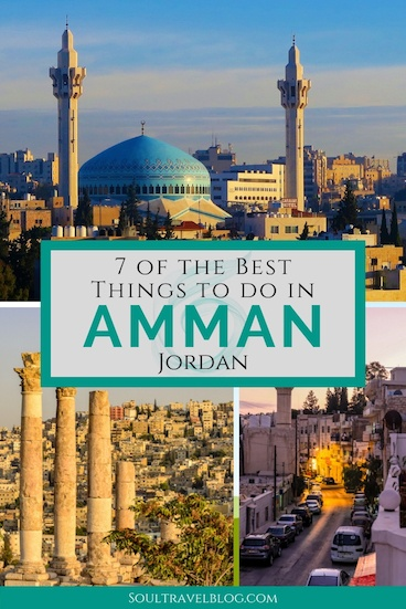 Planning a trip to Jordan and want to know more about Amman? We've put together our top things to do in Amman that will give you a flavour of this beautiful and friendly city! Save this to one of your boards for when you need it later, too! #ammanjordan #amman #jordantravel #visitjordan #responsibletravel #middleeast #middleeasttravel