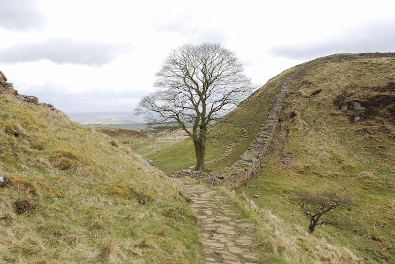 walking hadrian's wall england