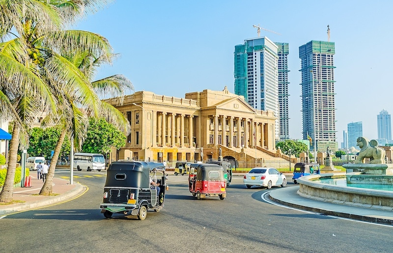 Colombo streets