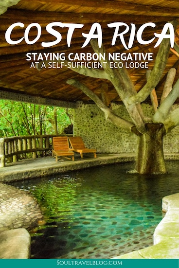 Planning travel in Costa Rica? Don't miss staying at Eco Lodge Rancho Margot - one of the only places in Costa Rica that has a negative carbon footprint! For a beautiful spot surrounded by nature and close to Lake Arenal, look no further! Read about our experience here. #costarica #oraganicliving #zerowaste #sustainabletravel