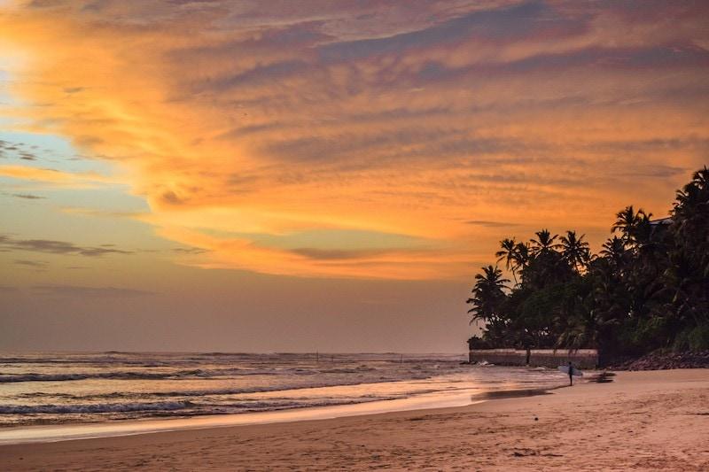 Ahangama Beach Sri Lanka