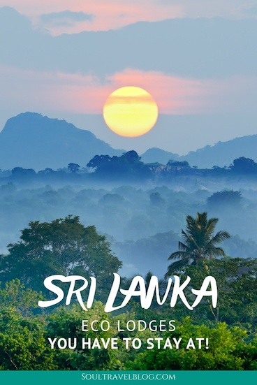 Planning travel to Sri Lanka? Check out these amazing eco lodges in Sri Lanka that will make your trip even more memorable - we've picked 11 of our favourites to make #sustainabletravel in #srilanka easy! #srilankatravel #asiatravel #traveltips #responsibletravel