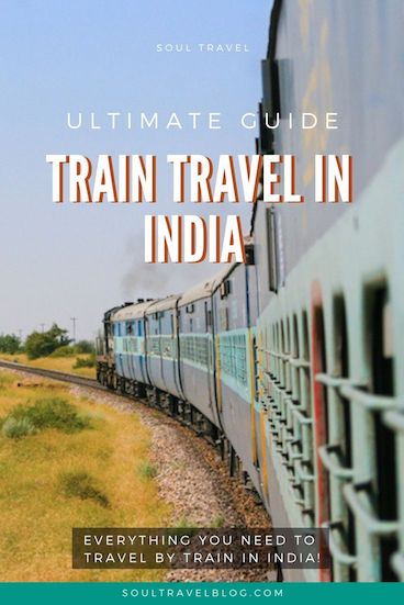 Train travel in India is likely to be one of the most memorable experiences of your India trip! Read our complete guide with everything you need to know about train travel in India - what to avoid, how to book trains and much more! Save this for later #india #indiatravel #traintravel