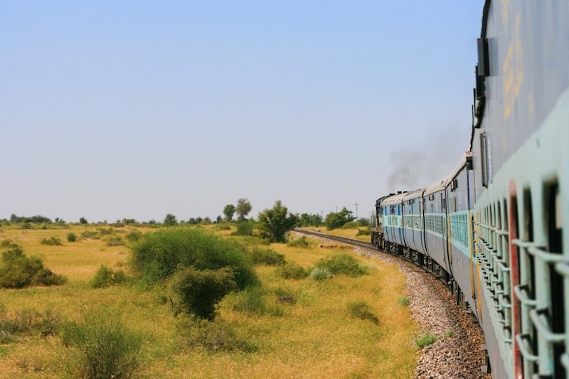 Indian train journeys