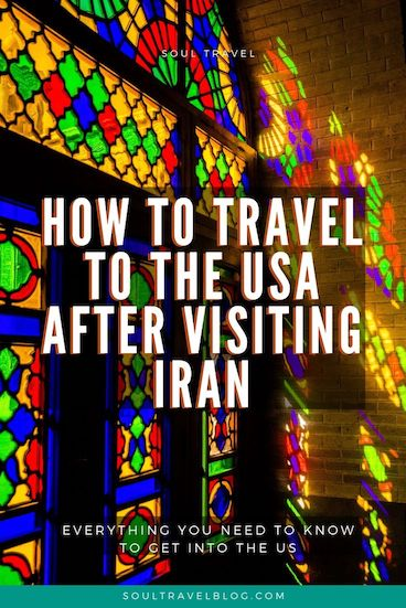 Everything you need to know about travelling to the USA after visiting Iran - including questions about getting an ESTA after Iran, USA visas and FAQ! #iran #irantravel #usa
