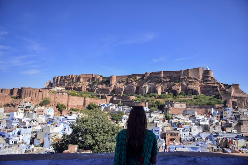 Blue city Jodhpur Rajasthan