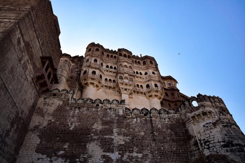 Fortaleza de Mehrangarh Jodhpur Rajasthan