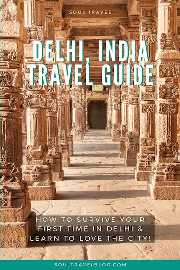 Travelling to Delhi, India? Check out our comprehensive Delhi travel guide for everything you need to know to survive your first visit to Delhi... and to learn to love the city too! #india #incredibleindia #traveltips