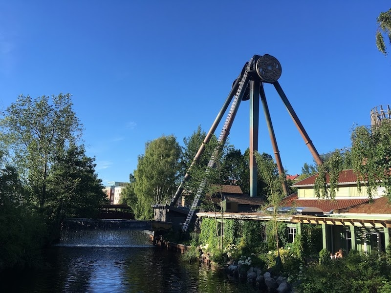 Parque Liseberg Gotemburgo cosas que hacer