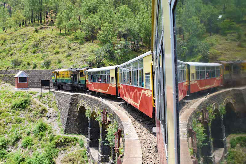 best toy train journeys in India